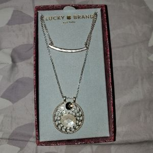 NWT Lucky Brand Double Layer Necklace